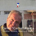 """""""Cacho"""" Roteta analizó el empate de El Quillá ante El Pozo"""