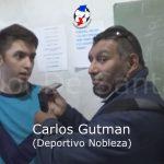 Carlos Gutman, habló luego de la victoria de Nobleza ante Atenas