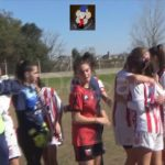 El final del partido y los festejos de Unión, tras ganar el clásico femenino