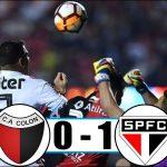 El resumen de Colón - Sao Paulo (Copa Sudamericana)