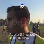 Pablo Sánchez, se refirió a la actulidad de El Pozo con los promedios