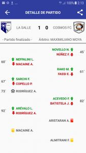 La Salle Jobson 1 - Cosmos FC 0 (la síntesis)