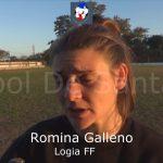 Romina Galleno, habló previo al duelo Logia - Defensores
