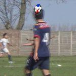 El gol de Lautaro Castillo (parcial La Salle 2 - Ateneo 0. Reserva)