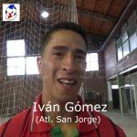 Iván Gómez, analizó el partido de Atl. San Jorge ante Colón