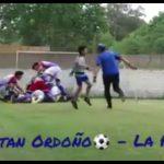 Los goles de Mariano Páez y Jonatan Ordoño (La Perla ante La Salle)