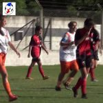 El gol de Soledad Mercado, que abrió la victoria de Las Flores II ante Colón en Femenino