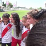 Los festejos del Sub 14 de River Femenino, Campeón del Sub 14