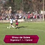 Los goles de Argentino de Franck - Central San Carlos