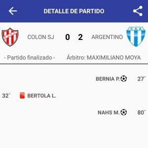 Argentino campeón en Reserva y Primera