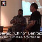 """Dinstinción Sergio """"Chino"""" Benítez, 10 años Fútbol De Santa Fe"""