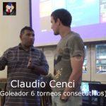 Dintinción Claudio Cenci, 10 años Fútbol De Santa Fe