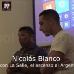 Distinción Nicolás Bianco, 10 años Fútbol De Santa Fe