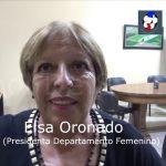 Elsa Oronado, analizó luego de la reunión el Femenino que se viene en 2019