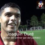 Joaquín Duré, abrió la cuenta, ante 9 de Julio de Arocena