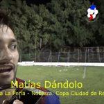 Matías Dándolo, figura de La Perla - Nobleza. Copa Ciuda de Recreo