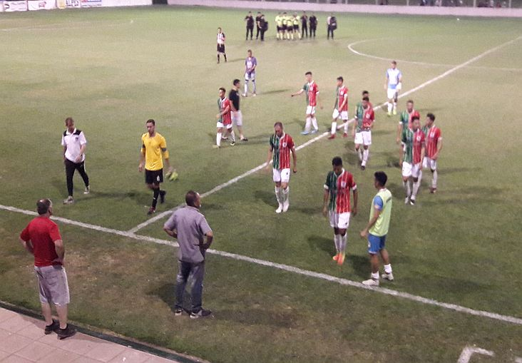 San Jorge 5 - 9 de Julio (Beravebú) Semi - Copa Federación (Ida)