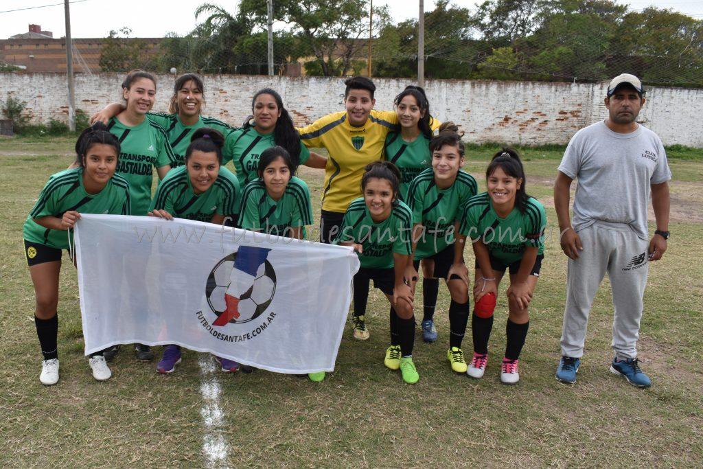 Loyola 0 - Deportivo Agua FC 2 (Femenino)