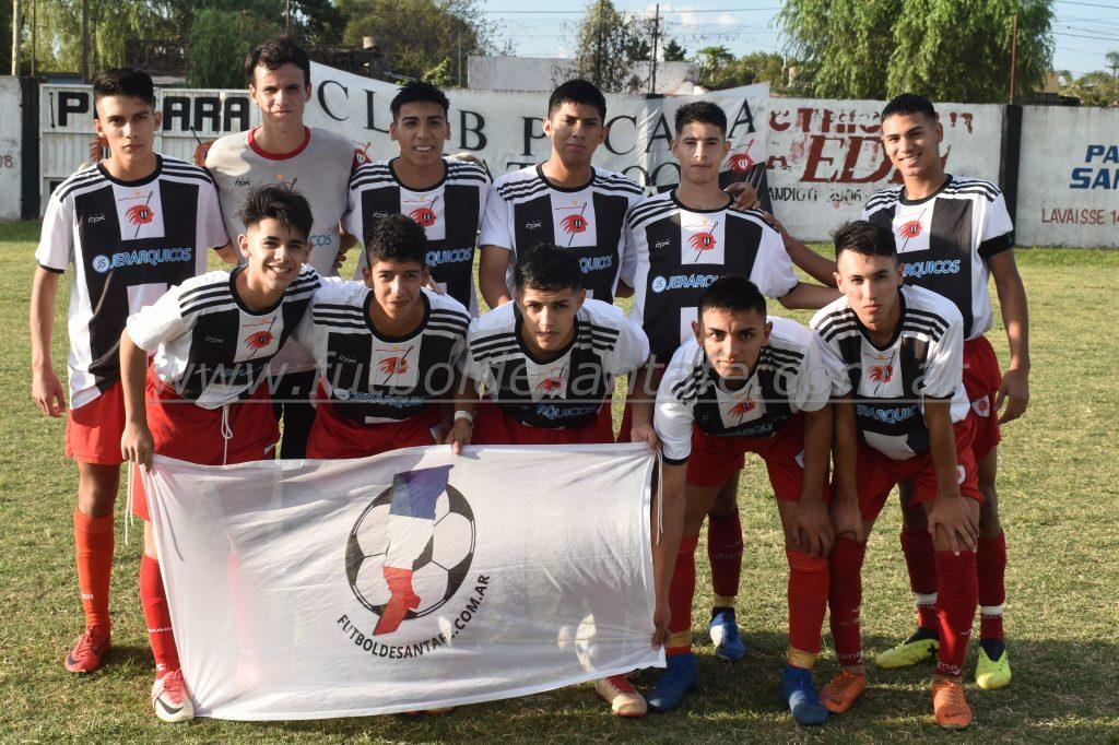 Pucará 1 - Atlético Floresta 2 (5ta División)