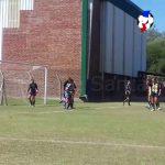 Dos de los goles de Alvear ante Náutico El Quillá (Apertura Femenino)