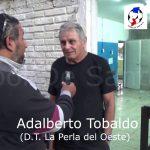 Adalberto Tobaldo, analizó el empate de La Perla ante Ciclón