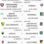 Designaciones arbitrales, fecha 11, Apertura 70 Aniversario Belgrano de Coronda