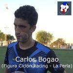 Carlos Bogao, figura Ciclón Racing - La Perla del Oeste