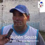 El análisis de Rubén Souza, de la victoria de Nuevo Horizonte - San Cristóbal