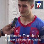 Facundo Dándolo, analizó el empate de La Perla, ante Ciclón
