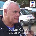 Julián Calvet, analizó el empate Ciclón - La Perla