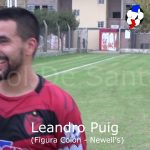 "Leandro ""Chino"" Puig, figura de Colón - Newell's"