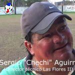 """""""Chechi"""" Aguirre, analizó la victoria de Las Flores ante Loyola"""