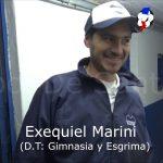 Exequiel Marini, analizó la victoria de Gimnasia ante El Pozo