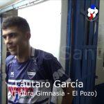 Lautaro García, figura de Gimnasia - El Pozo