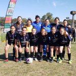 Empate del femenino, en el debut, Juegos Región Centro