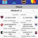 Así se juega la fecha 2; Clausura Martín Denat en la B