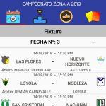 """Designaciones arbitrales, fecha 3, Zona Campeonato A, Clausura Pascual """"El Abuelo"""" Mendoza"""