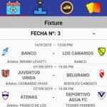 """Designaciones arbitrales, fecha 3, Zona Campeonato B, Clausura Pascual """"El Abuelo"""" Mendoza"""