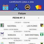 """Designaciones arbitrales, fecha 2 Zona Campeonato A, Clausura Pascual """"El Abuelo"""" Mendoza"""