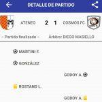 Ateneo Inmaculada 2 - Cosmos FC 1 (La síntesis)