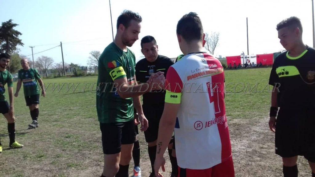 Polideportivo Llambi Campbell 1 - San Martín de Monte Vera 1