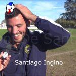Santiago Ingino, abrió el camino de la goleada de El Quillá ante La Perla