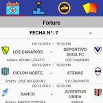 """Designaciones arbitrales, fecha 7, Zona Campeonato B, Clausura Pascual """"El Abuelo"""" Mendoza"""