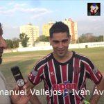Iván Ávila y Emanuel Vallejos (Las figuras de Nacional - Juventud Unida)