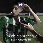 Juan Montenegro, manifestó su alegría, por el ascenso de San Cristóbal