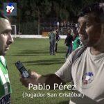 Pablo Pérez, se refirió a San Cristóbal, ascendido a la A