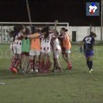 La definición desde el punto penal, Unión - Deportivo Santa Rosa, en Reserva Femenino