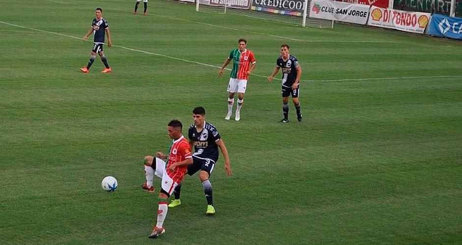 Atlético San Jorge, derrotó a Ben Hur