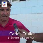 Carlos Trullet, analizó la actualidad de Ben Hur