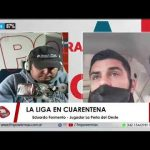 Eduardo Formento, charló con La Revista Deportiva